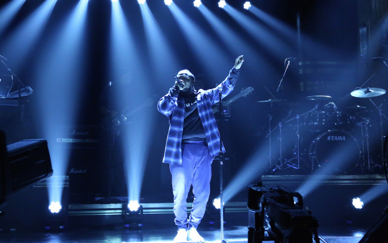 Kendrick Lamar Preforms Untitled 2 on Jimmy Fallon